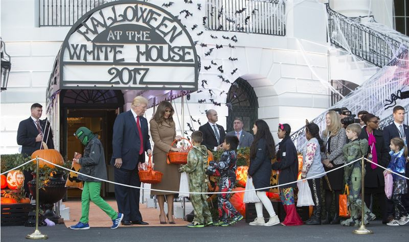 Белый Дом проникся духом Хэллоуина