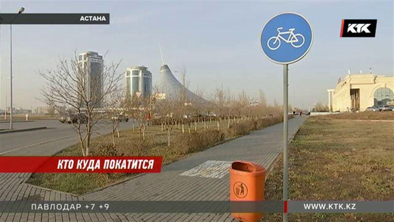 Велосипедисты смогут прокатиться даже по автобусной полосе