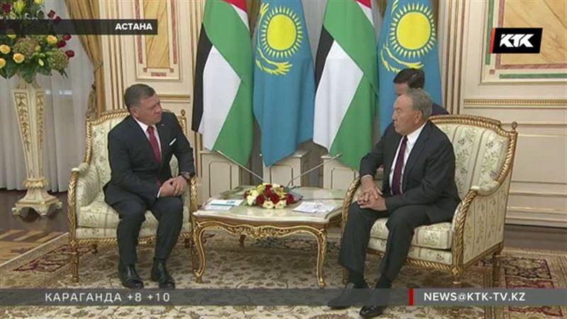 Встреча с Нурсултаном Назарбаевым тронула короля Иордании