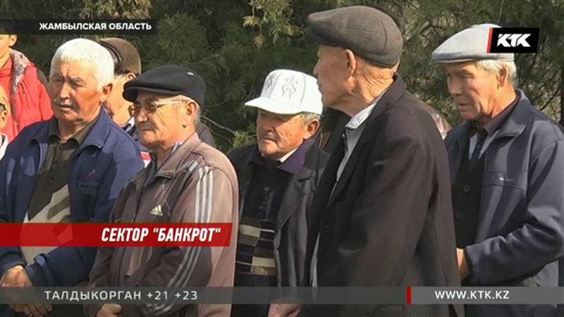 Из-за противостояния глав кооператива жамбылские сельчане могут остаться без паев