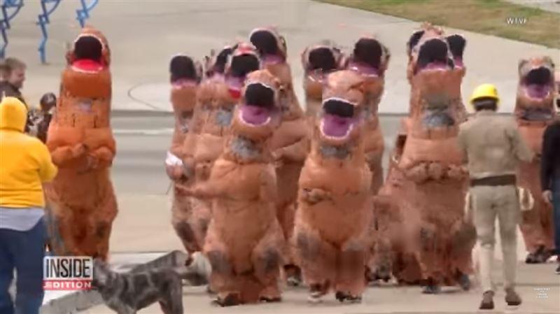 В Америке прошел ежегодный забег… динозавров