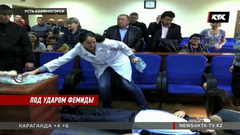 Во время оглашения приговора экс-чиновник упал в обморок