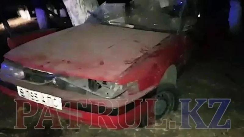 Установлена личность разбившегося в «Мазде» в Алматинской области