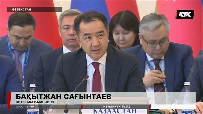 Бақытжан Сағынтаев Қырғыз премьерін орнына қойды