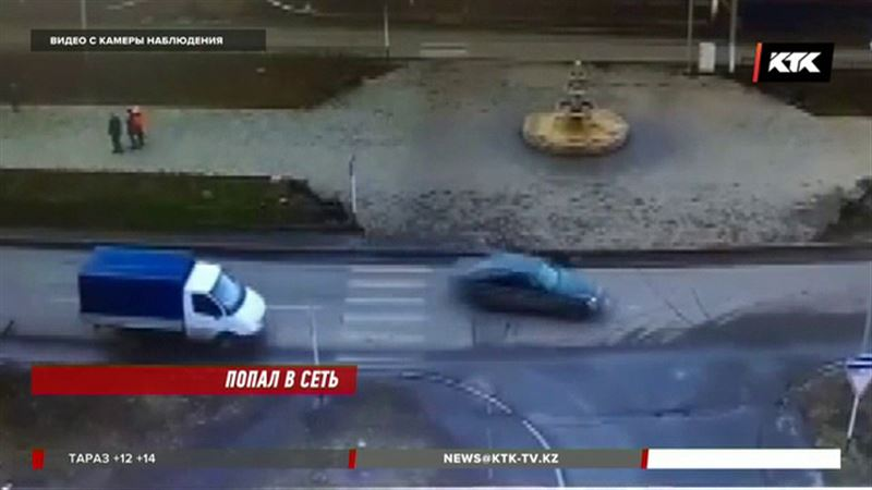 Лихача, сбившего женщину, задержали по дороге на СТО