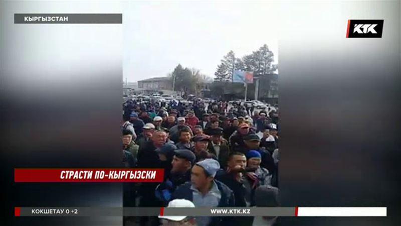 Кыргызы недовольны поведением Атамбаева