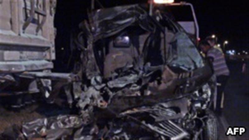 В Киргизии в ДТП на магистрали погибли десять человек
