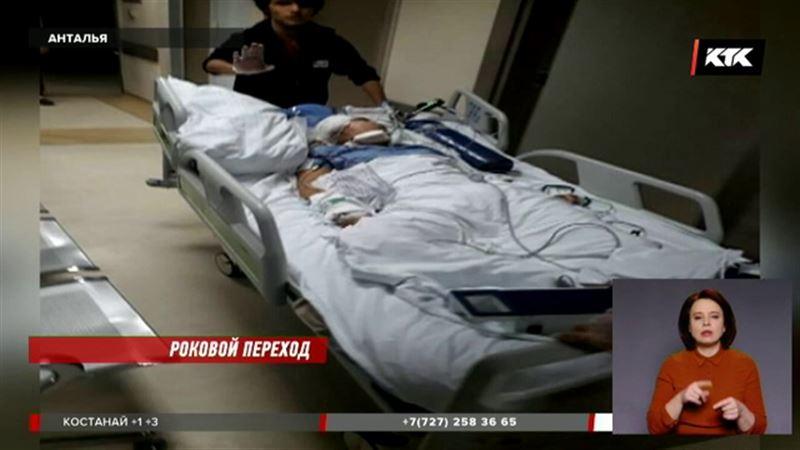 Сбитую  на «зебре» в Турции казахстанку готовят к новой операции