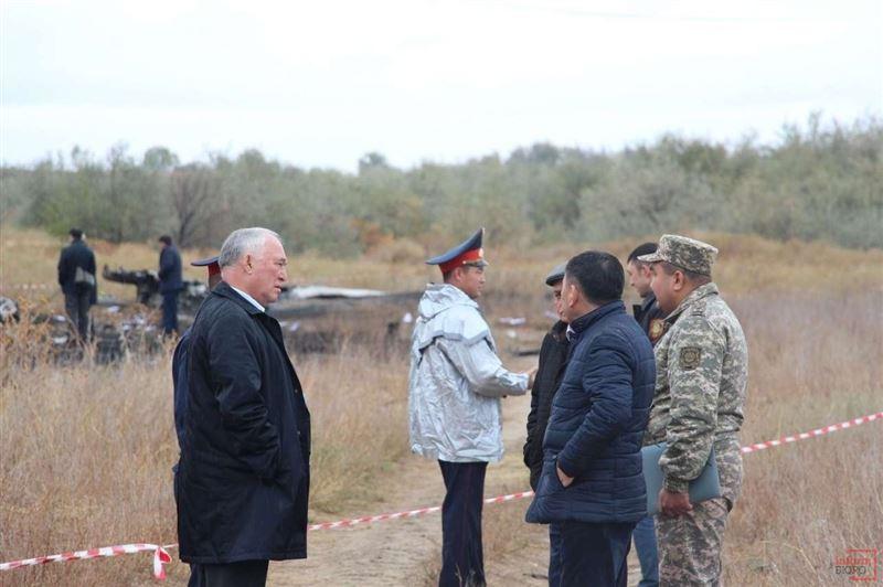 Стали известны подробности о черных ящиках разбившегося самолёта санавиации под Алматы