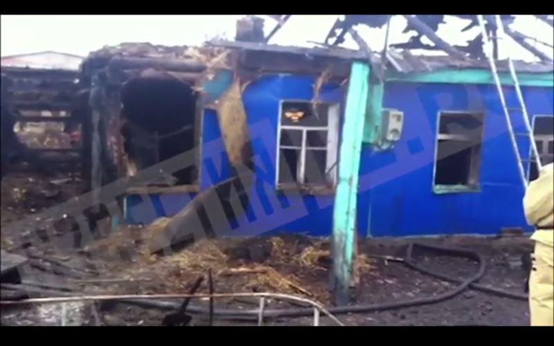 В жутком пожаре погибли пять человек
