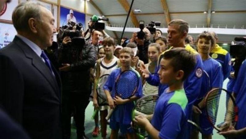 «Теннис – мой любимый вид спорта», - Нурсултан Назарбаев