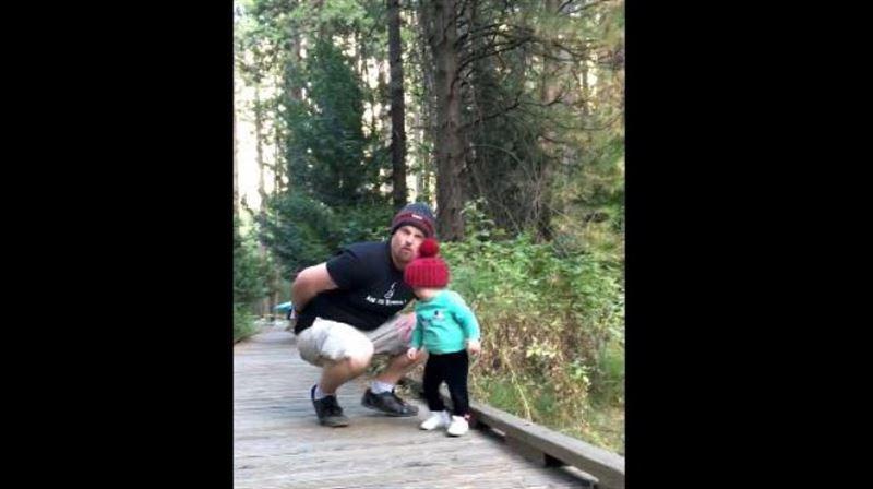 ВИДЕО: реакция отца спасла ребенка от смерти