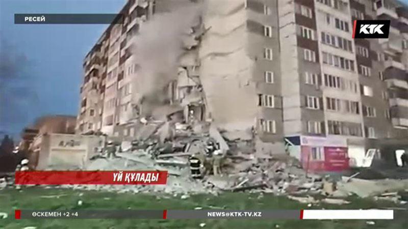 Ресейдің Ижевск қаласында тоғыз қабатты үй опырылып, төрт адам қаза тапты