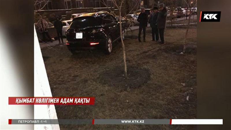 Астанада қымбат көлігімен адам қаққан жүргізуші министрліктің лауазымды қызметкері болып шықты