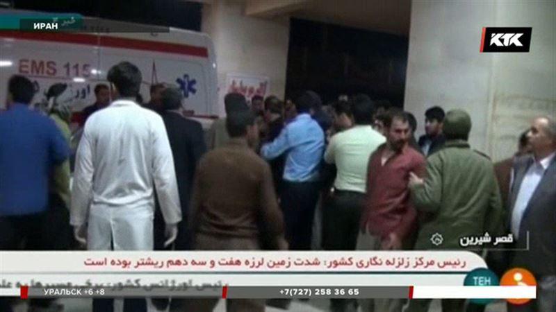 Число погибших при землетрясении на границе Ирана и Ирака растет