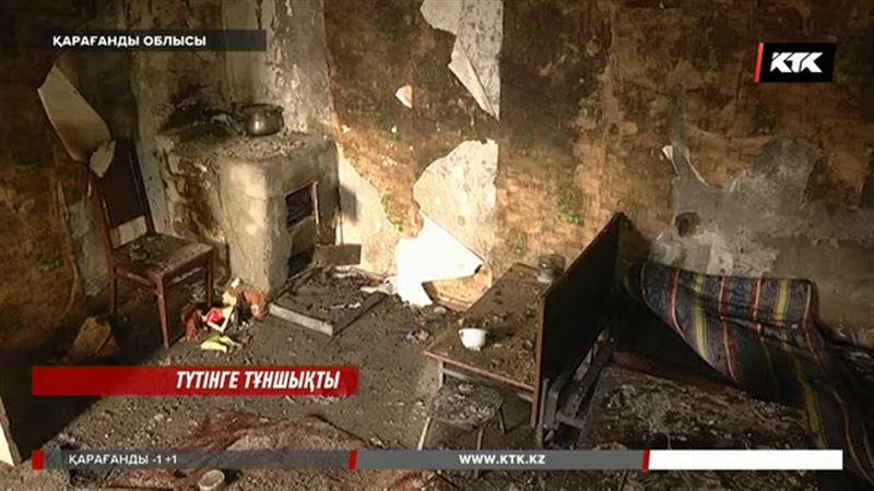 Қарағанды облысында өрт салдарынан бір отбасыдағы төрт адам ажал құшты