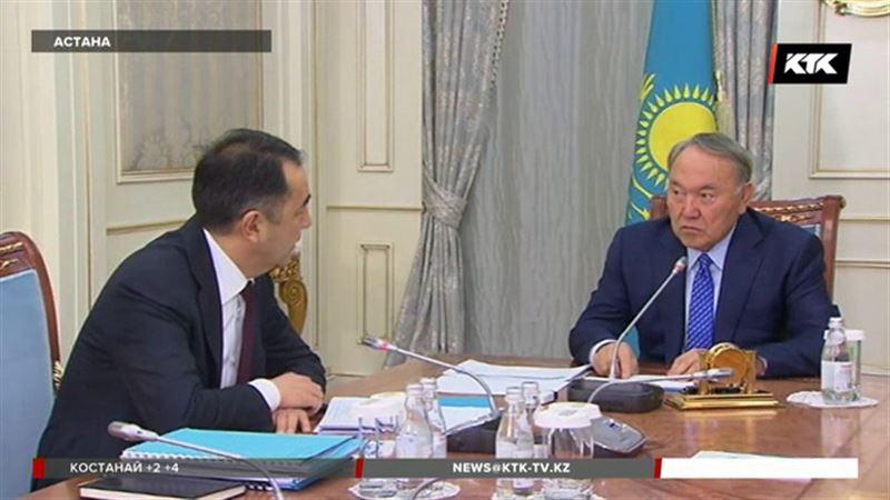 Сагинтаев рассказал президенту, чего достигли в 2017 году