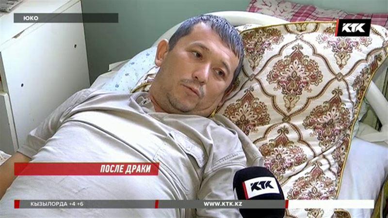 Житель ЮКО обвинил сельского акима в избиении