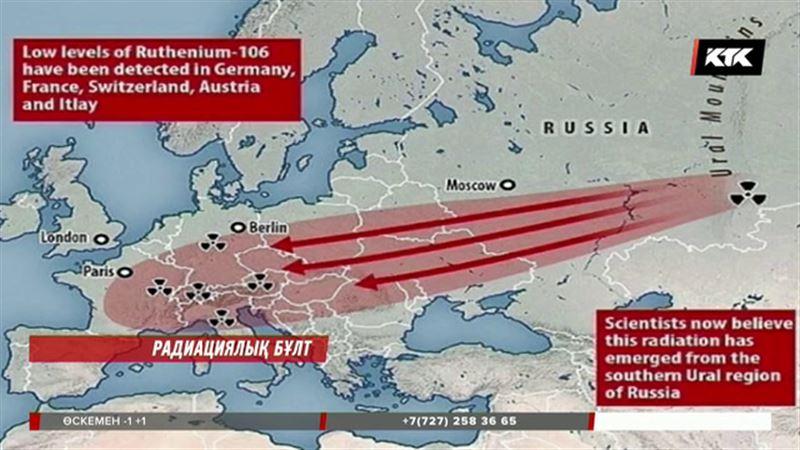 Еуропаны дүрліктірген радиациялық бұлт қайдан келді?