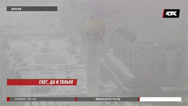 Аномально холодная зима ждёт казахстанцев