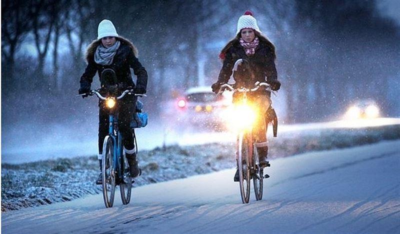 Четыре причины оседлать велосипед зимой