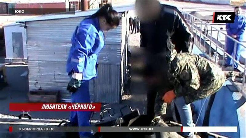 Целую банду расхитителей нефти задержали в ЮКО