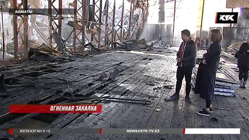 В Алматы сгорел кроссфит-зал, где тренировались инвалиды
