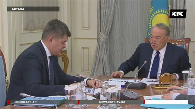 Нурсултан Назарбаев предупредил министра здравоохранения
