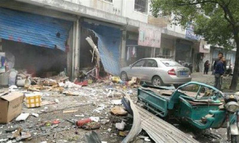 В результате крупного взрыва в Китае пострадали 30 человек