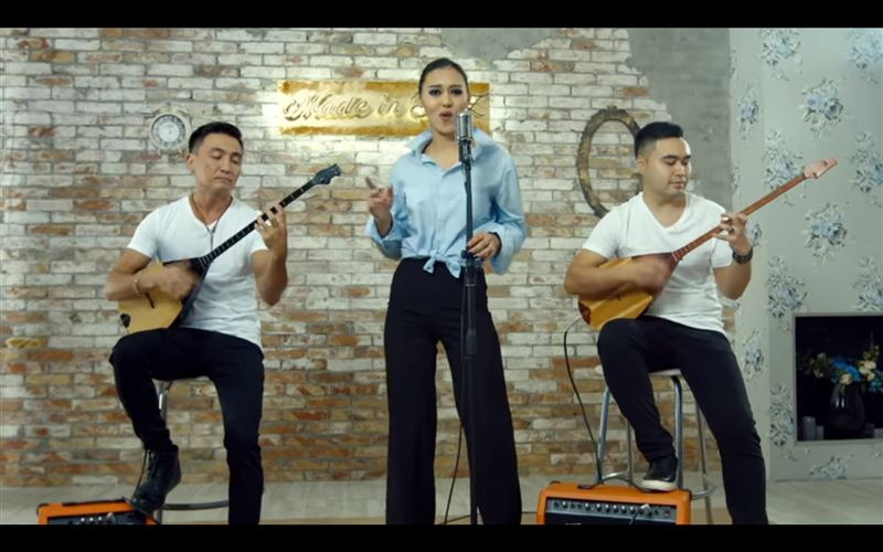 Казахстанская группа перепела хит «Lost on you» на домбре
