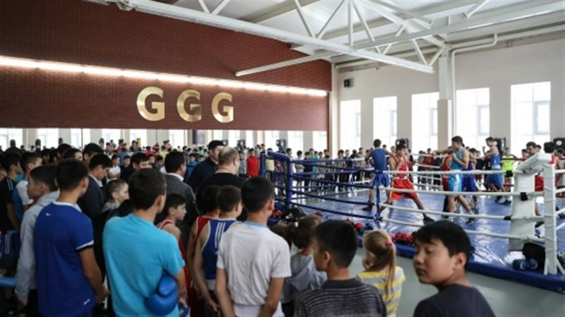 В Караганде комплексу имени Головкина подарили ринг