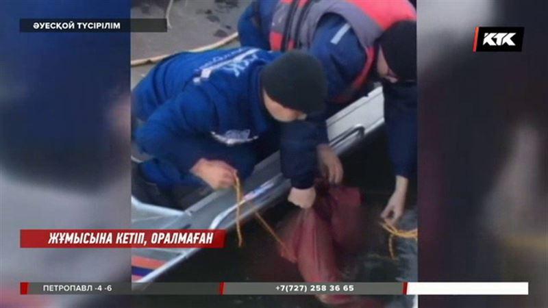 Атырауда балықшылар адамның өлі денесін тауып алды
