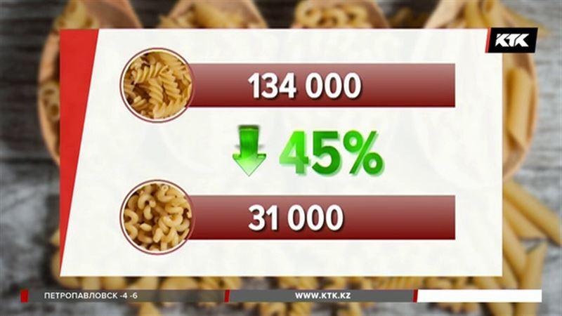 Казахстанцы массово покупают макароны