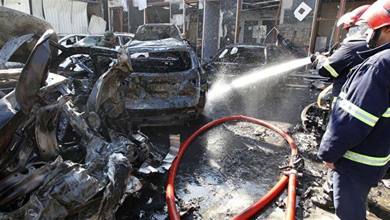 Террористы-смертники совершили атаку в Багдаде, есть погибшие
