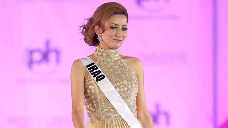 Неизвестные угрожают семье участницы конкурса «Мисс Вселенная», представлявшей Ирак