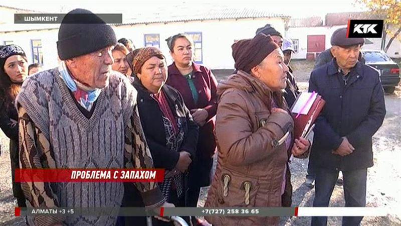 Шымкентцы требуют закрыть завод, который без того сейчас не работает