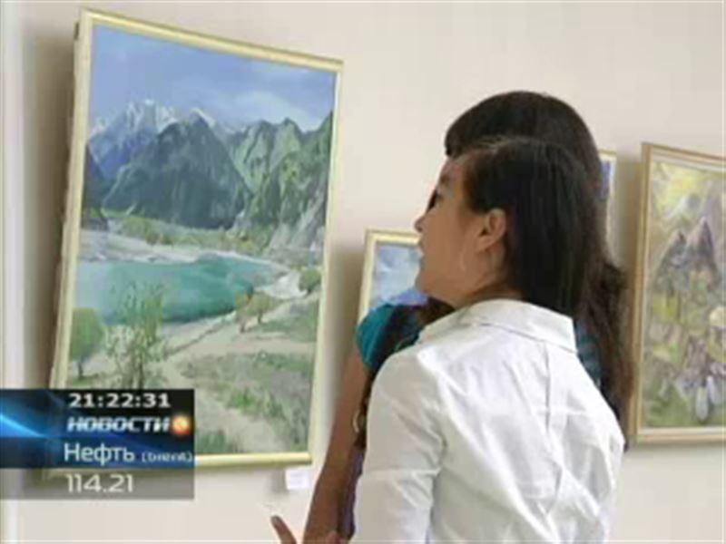 Экскурсию на природу подарил молодым художникам Казахстана Фонд первого Президента