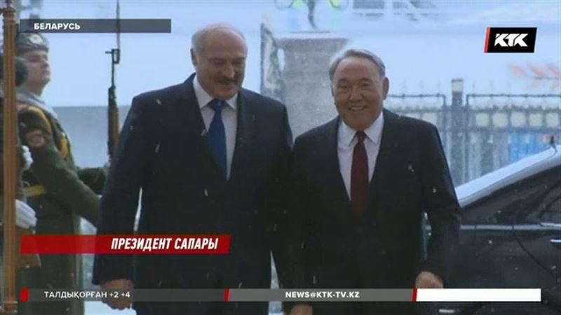 Лукашенко Назарбаевтан көп нәрсені үйренгенін айтты