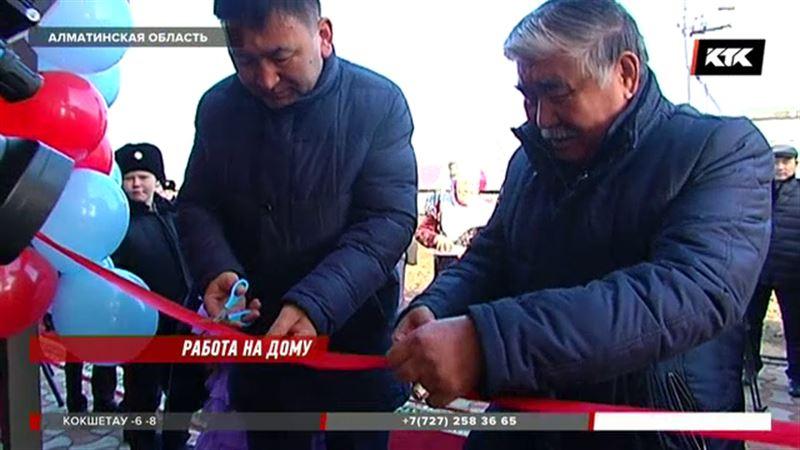 Участковый из Алматинской области будет работать на дому