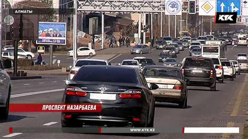 В Алматы теперь есть проспект Нурсултана Назарбаева