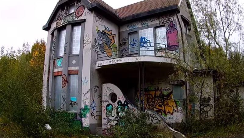 В бельгийском городе-призраке все еще живут люди