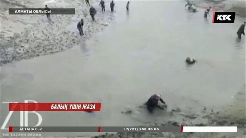 Алматы облысында балыққа таласқандар жазаланатын болды
