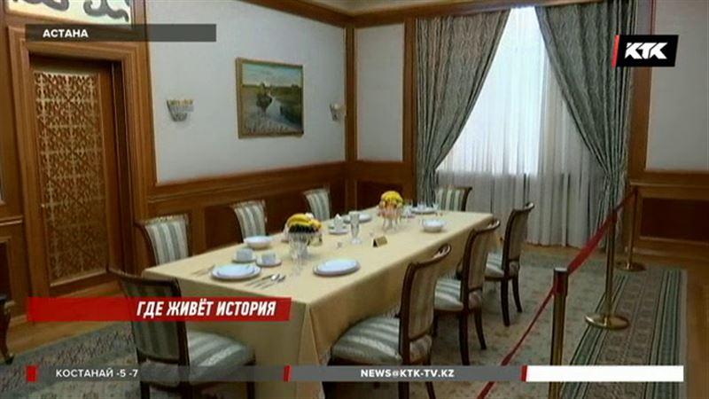 В каком кресле сидел и из какой посуды ел президент, увидели репортеры КТК