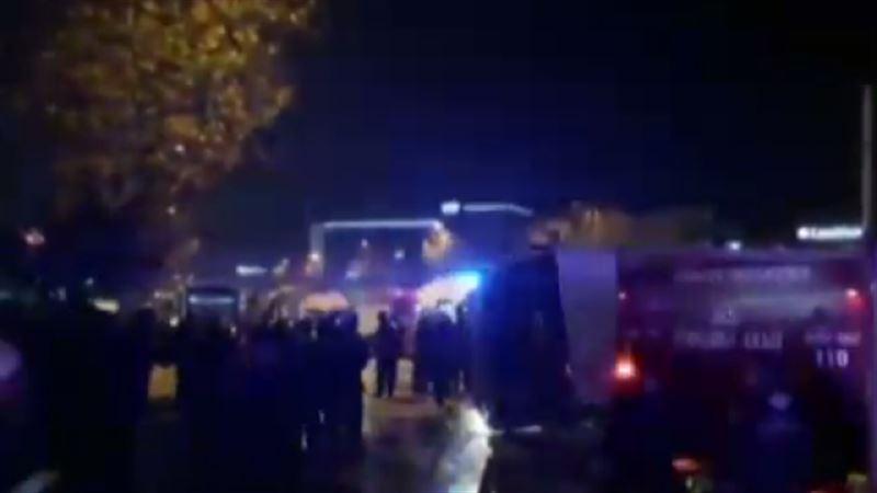 ВИДЕО: Автобус попал в ДТП в Турции, есть жертвы