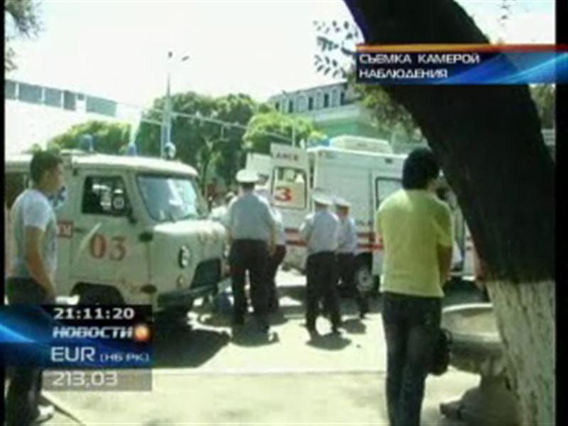 В Алматы арестован водитель  автобуса, протаранившего машину дорожной полиции