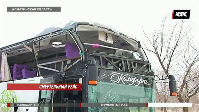 Водитель автобуса объяснил причину смертельного ДТП на трассе Алматы – Бишкек