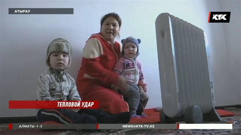 В Атырау замерзают терпеливые жители новостройки