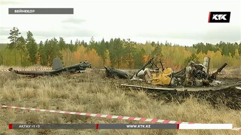 Ми-2 тікұшағы командирдің кінәсінен құлаған.
