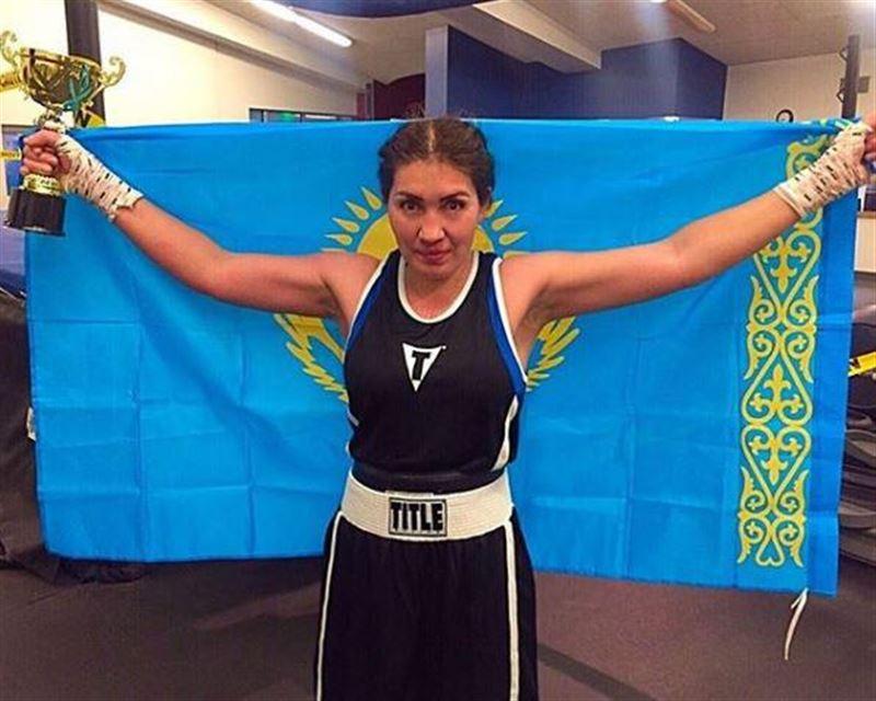Қазақстандық боксшы қыз профи-рингтегі алғашқы айқасында жеңіске жетті