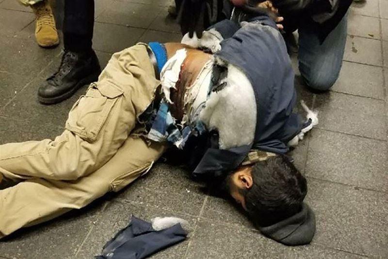 В Сети появилось видео взрыва на автовокзале в Нью-Йорке